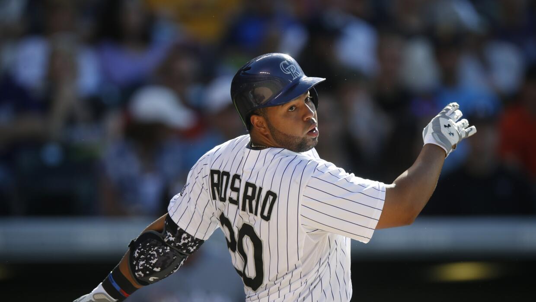 Rosario ayudó a Rockies