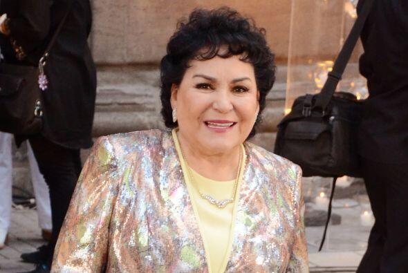 Carmen Salinas se unió a la lista de actores que incursionan en la polít...
