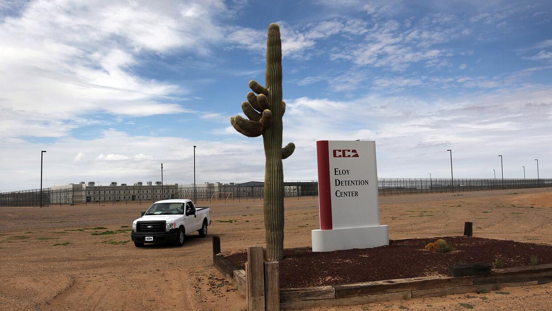 Centro de detención Eloy en Arizona