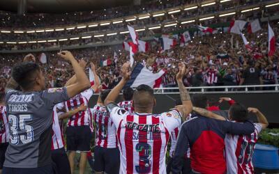 Chivas campeón de la Liga de Campeones de Concacaf.