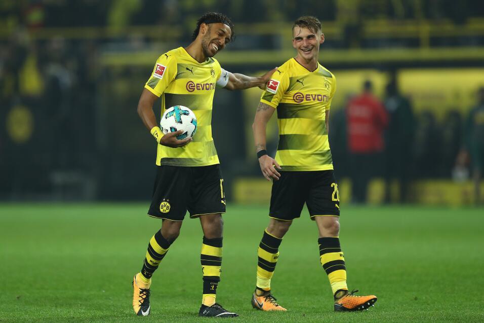 Borussia Dortmund suspende de nuevo a Aubameyang gettyimages-852414770.jpg
