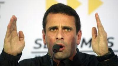 Caprilesexhortó a Nicolás Maduro aatender las responsabilidades inhere...
