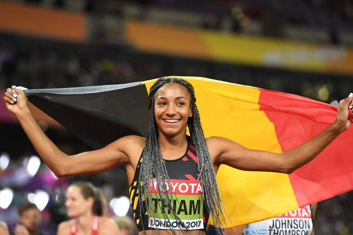 Nafissatou Thiam (Alemania) / Heptatlón