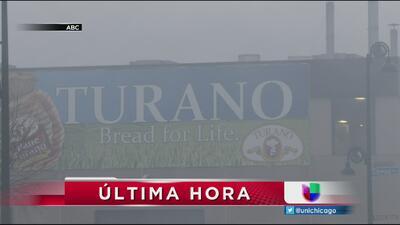 Explosión e incendio consume garaje de Turano Bakery