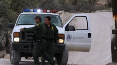 Agentes de la Patrulla Fronteriza de EEUU.