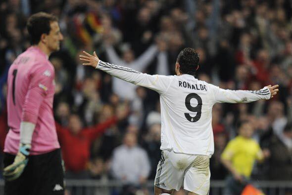 Pero cuando más cerca estaban de dañar a los locales, Cristiano Ronaldo...