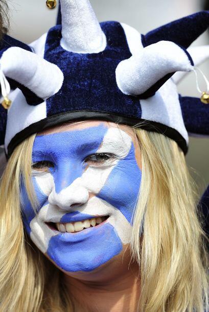 Los escoceses no se querían quedar atrás, y vaya que no lo hicieron.