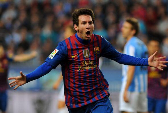 Lionel Messi abrió el marcador al minuto 33.