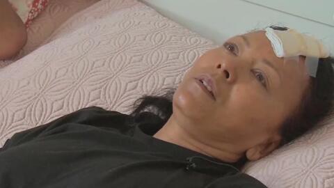 """""""Volví a nacer"""": mujer que fue lanzada por un hombre a los rieles del su..."""