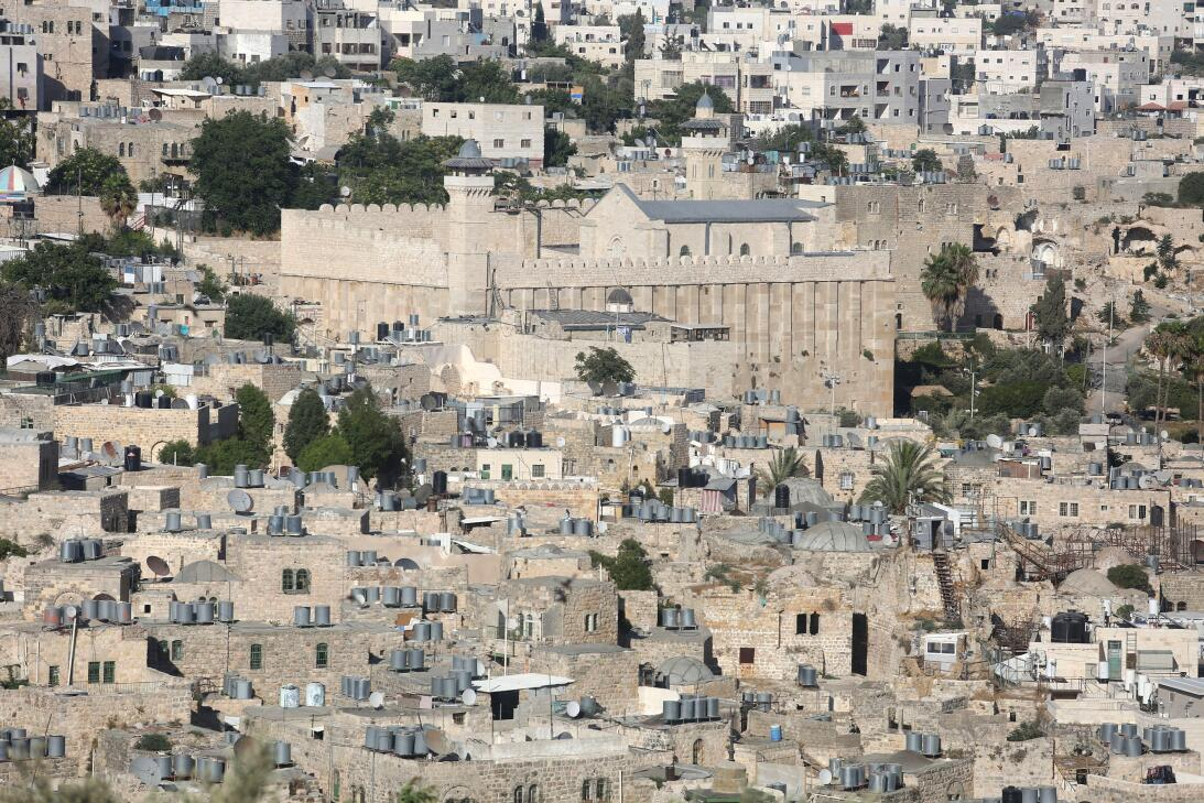 Palestinian territories: Hebron/Al-Khalil Old Town