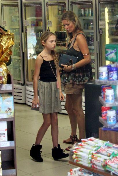 Una adolescente que sacó mucho de su mami, la belleza, gusto por la moda...