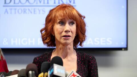 ¿Fue desmedida la publicación de la comediante Kathy Griffin con una pre...