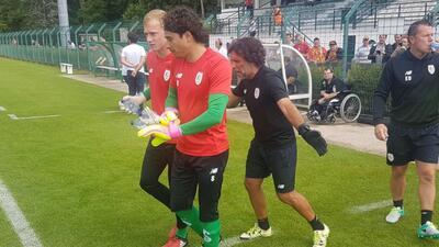 Guillermo Ochoa debutó con el Lieja.
