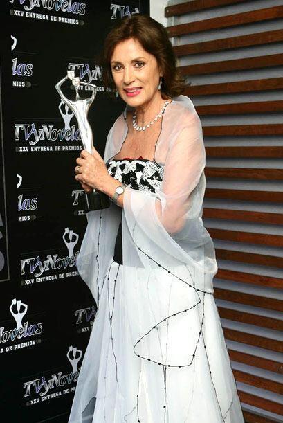 Helena Rojo es la única actriz que ha ganado como heroína, villana y Pri...