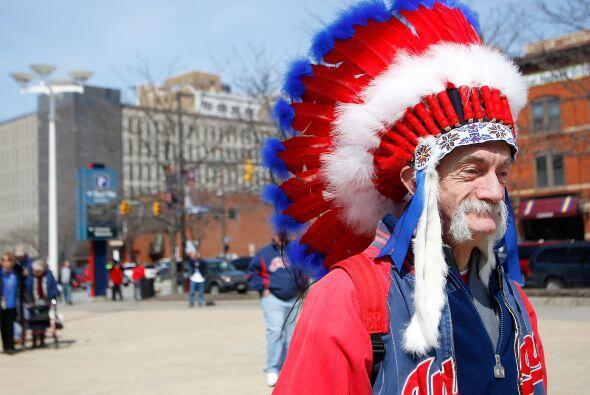 Pese al resultado, los fanáticos de Indians no se deprimieron y salieron...