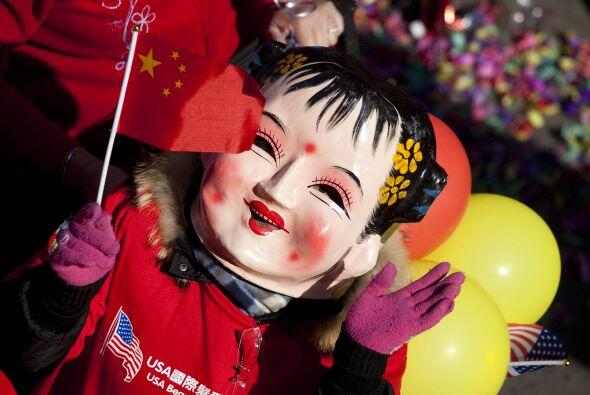 El año nuevo chino se celebra del 3 de febrero de 2011 hasta el 22 de En...