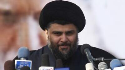 Moqtada Sadr regresó a Irak tras un autoexilio de cuatro años, después d...