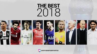 ¡Messi y Griezmann, fuera! FIFA definió finalistas a los premios 'The Best 2018'