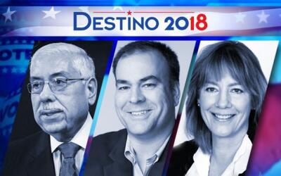 Joe Berrios, Fritz Kaegi y Andrea Raila