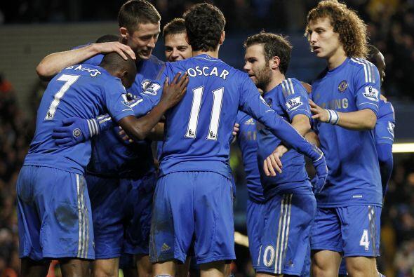 Chelsea así logró su pase a la siguiente fase de la Copa d...