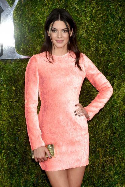 Kendall Jenner vistió un inquietante diseño de Calvin Klein.