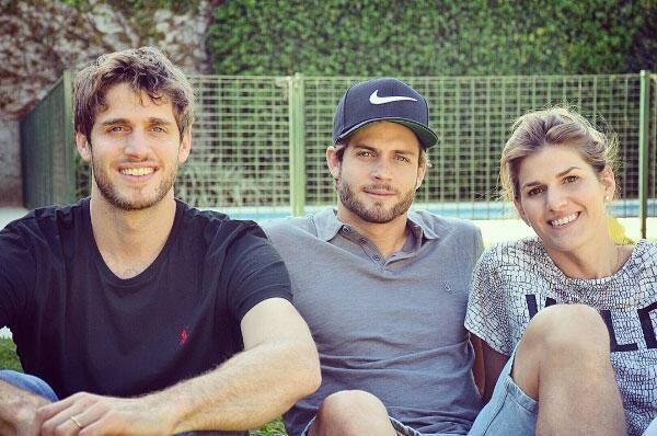 Horacio Pancheri y sus hermanos