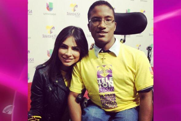 Alejandra demostró su inmenso corazón y su compromiso con las causas soc...