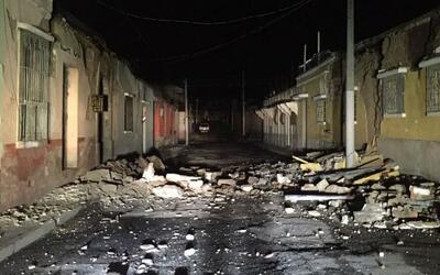 Viviendas en el departamento de San Marcos sufrieron daños.