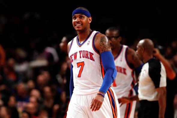 Carmelo Anthony ha sido muy importante para los Knicks. Muy buena tempor...