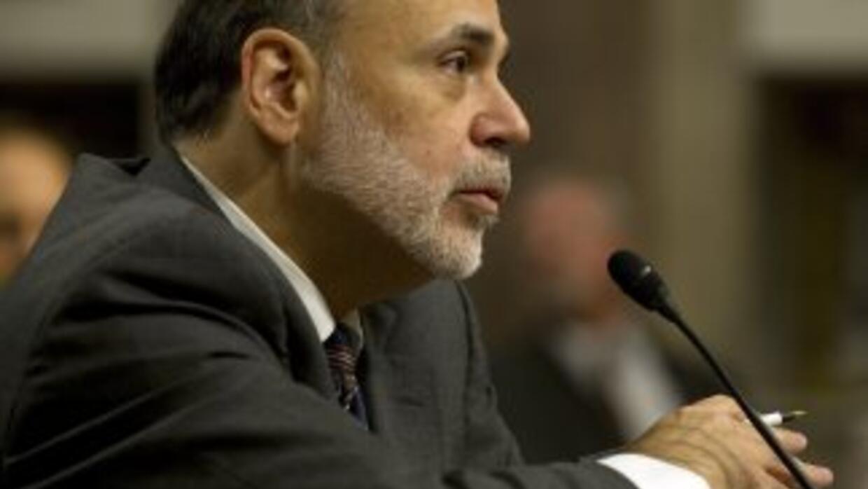 Ben Bernanke dijo que la crisis en Europa representa riesgos para el cre...