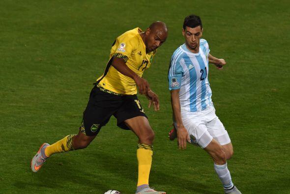 Jamaica estuvo muy cerca de conseguir el empate, fue su mejor partido en...