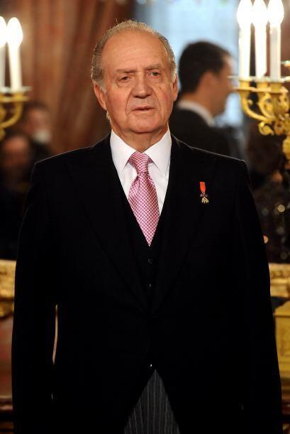 El rey Juan Carlos   asiste a la recepción anual de embajadores extranje...
