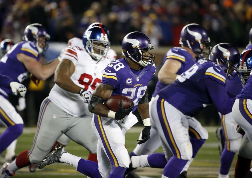Los Minnesota Vikings apalearon a los New York Giants y de paso lograron...