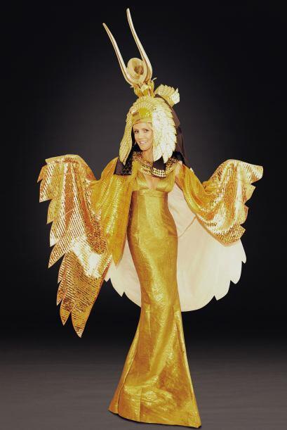 El año pasado le puso mucho detalle a este disfraz de Cleopatra, con el...