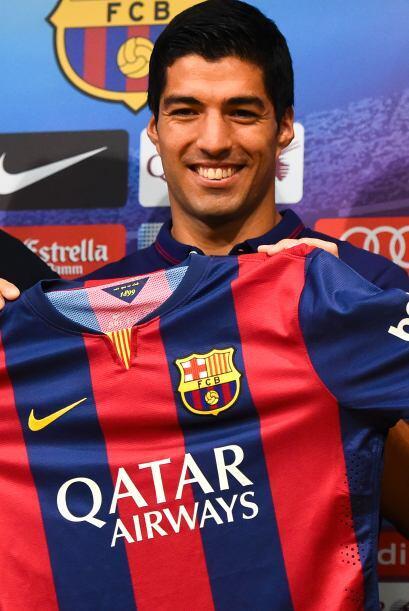 El delantero uruguayo se mostró muy contento de cumplir su sue&nt...