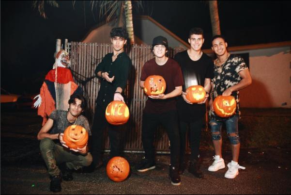 ¡Listos para Halloween! Octubre de 2016 en Miami, Florida.