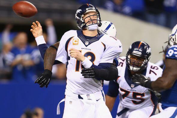 Peyton Manning regresó a Indianapolis tras 14 temporadas con los Colts,...