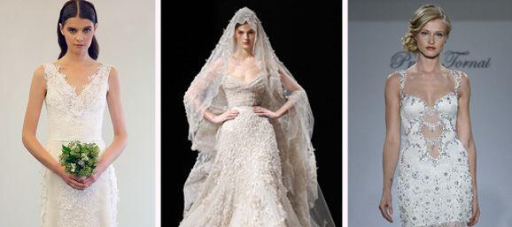 El vestido es algo que la novia elige con mucho cuidado y cariño para el...