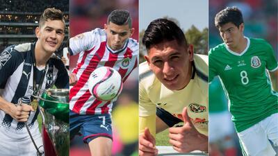 Cantera de jóvenes y talentosos de la Liga MX para el Clausura 2018