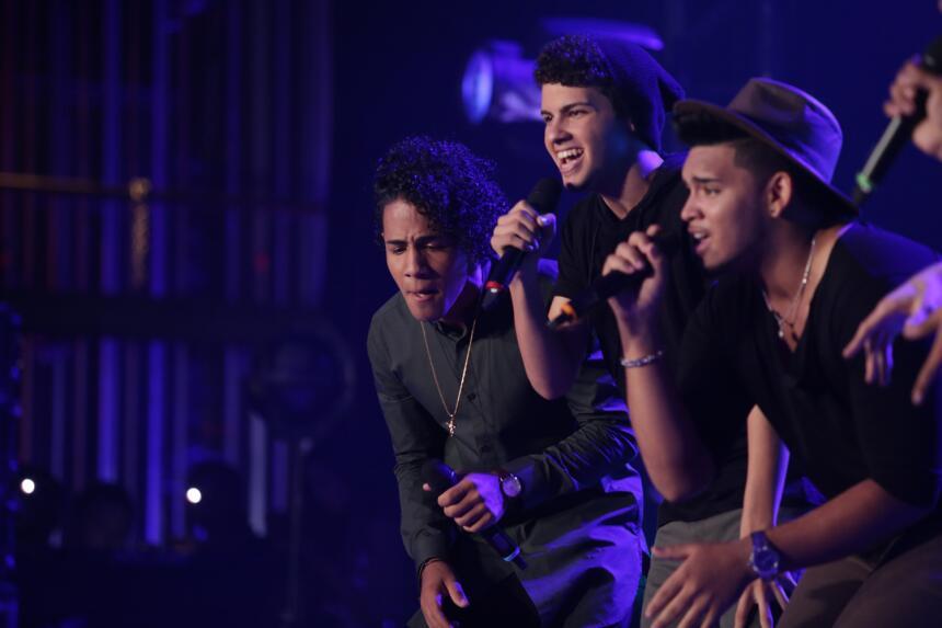 La música corre por las venas de estos hermanos dominicanos que audicion...