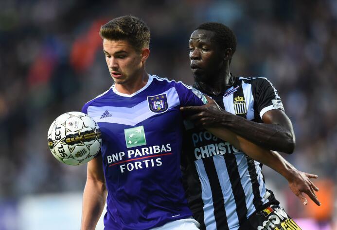 Leander Dendoncker, campeón con el Anderlecht de la liga de Bélgica, est...