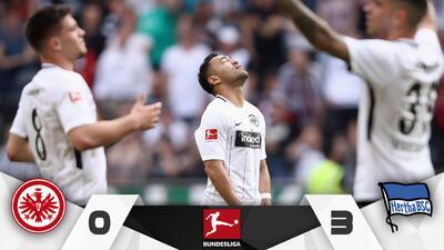 El Frankfurt de Fabián cae ante el Hertha y se aleja de Europa