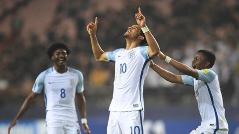 Inglaterra clasifica a la final del Mundial sub-20