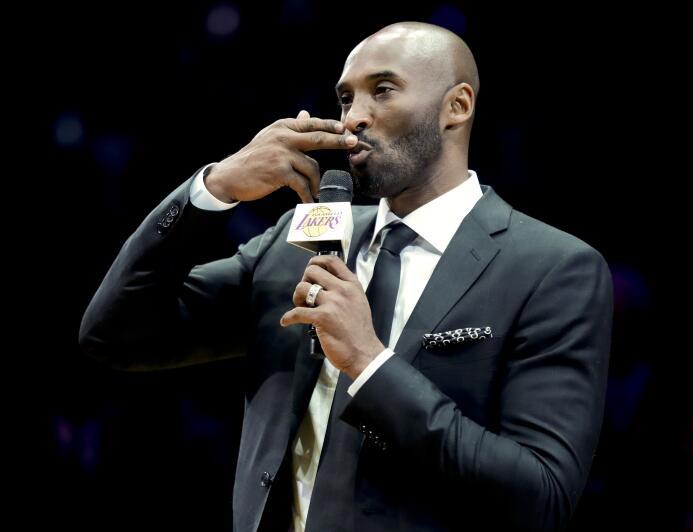 7. Kobe Bryant (Baloncesto) - 800 millones de dólares