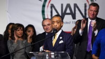 Líderes de la ciudad de Nueva York recordaron a Nelson Mandela con un ho...