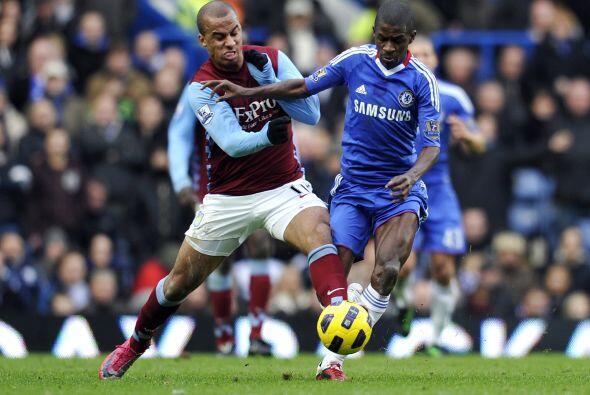 Los 'Blues' recibieron en Stamford Bridge al Aston Villa.