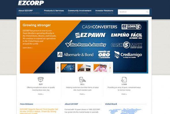 EZCORP- Esta institución bancaria está buscando empleados que se desarro...