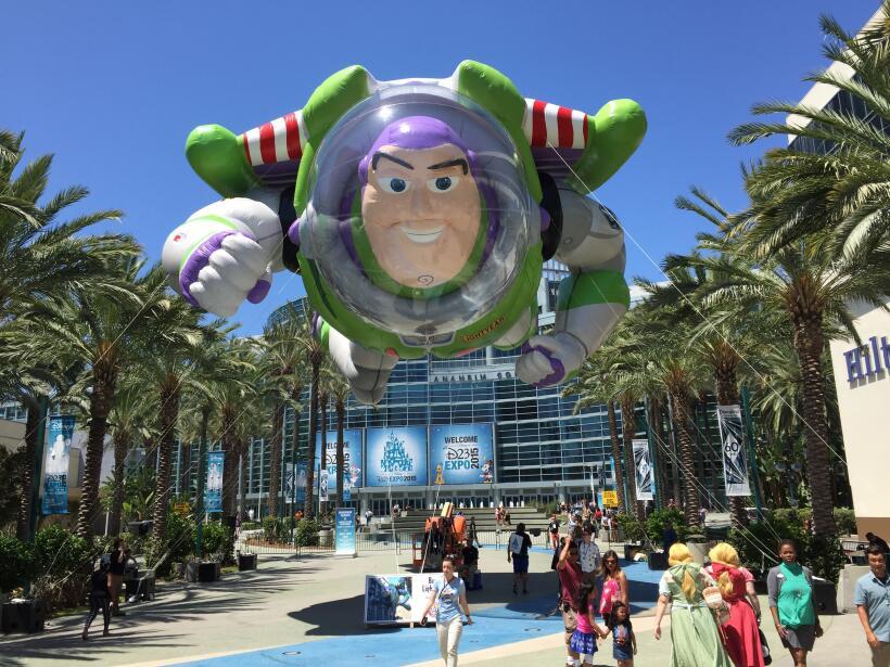 El mayor evento de fans de Disney en el mundo tuvo lugar por tres d&iacu...