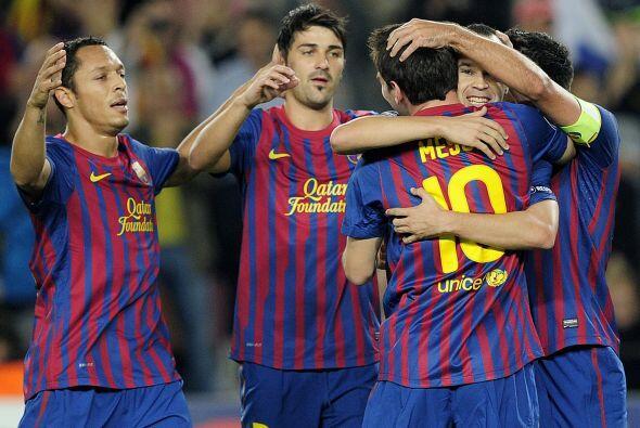 Barcelona ganaba y jugaba bien.