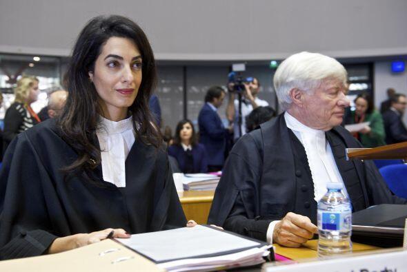Representando a Armenia en el juicio.